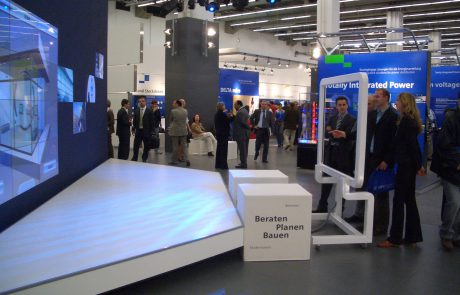Events - light + building, Siemens Building Technologies