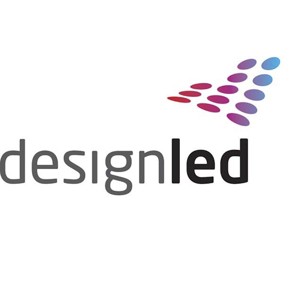 DesignLED Products, Logo weiß