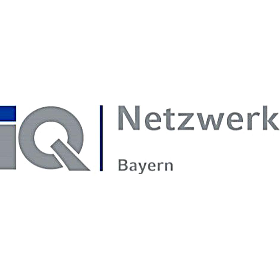 Landeshauptstadt München, iQ Netzwerk Bayern, Logo