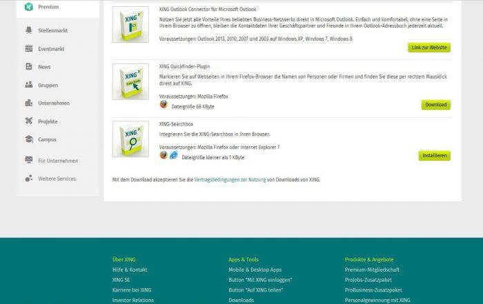 Outlook Connector - Link zum Download