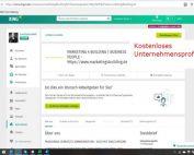 Unternehmensprofil zusätzlicher Inhalt - Produkte und Services